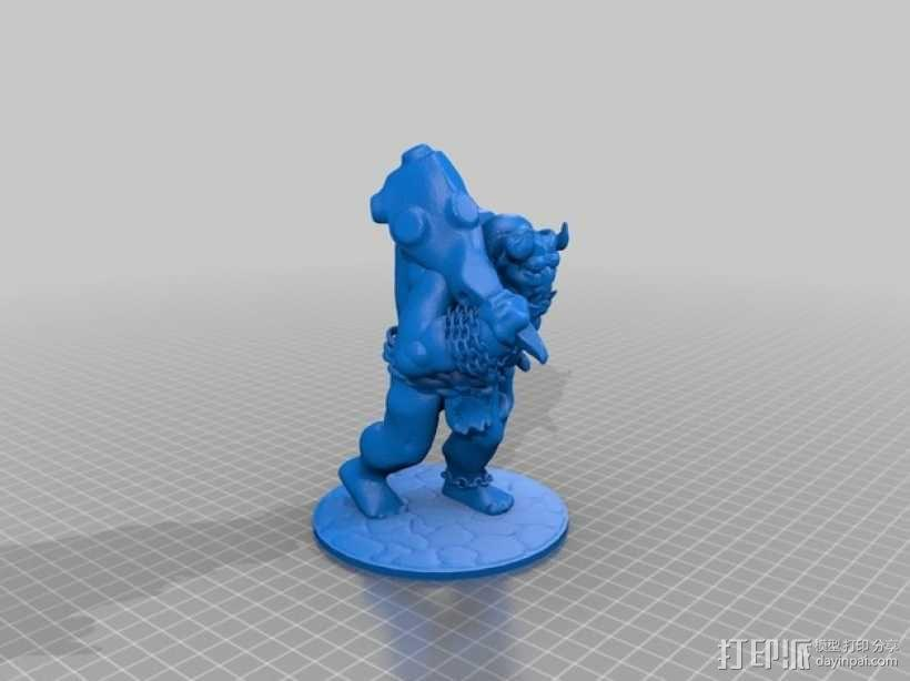 洞穴巨人 3D模型  图7