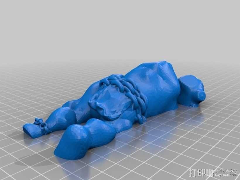 洞穴巨人 3D模型  图9