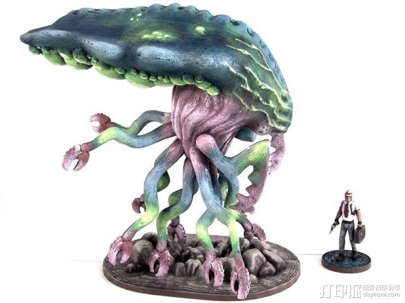 Branar Lasher外星生物 3D模型  图1