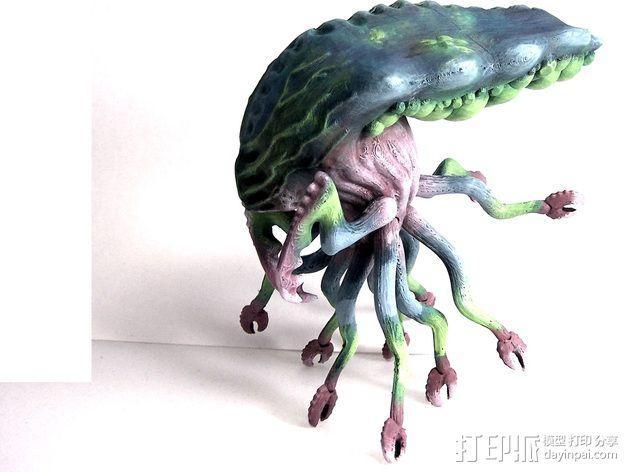 Branar Lasher外星生物 3D模型  图6