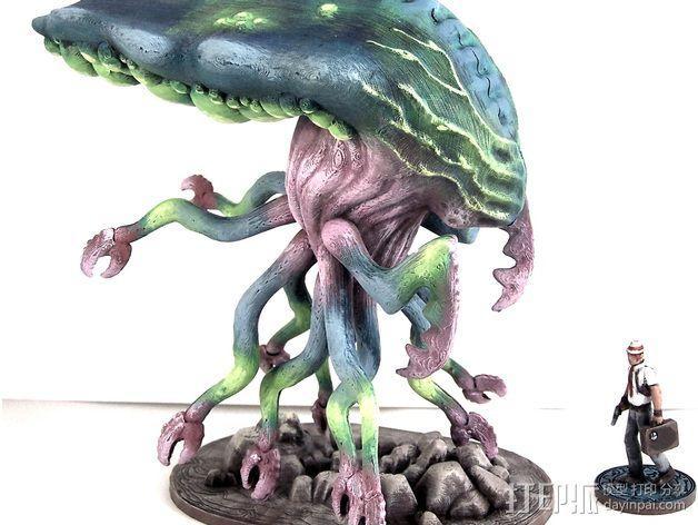 Branar Lasher外星生物 3D模型  图5