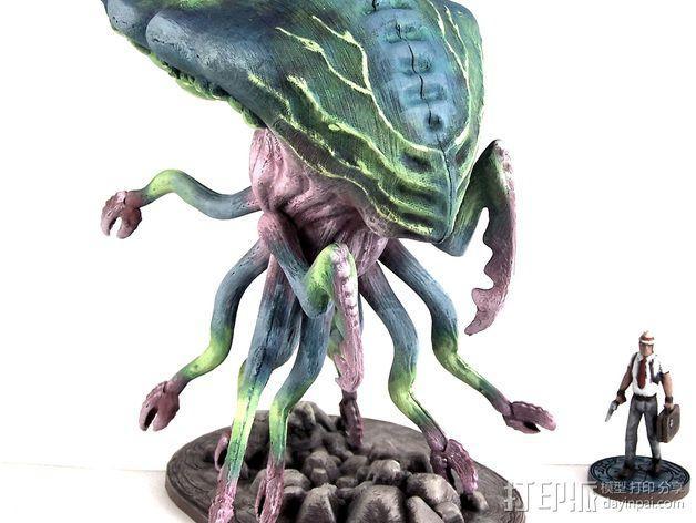 Branar Lasher外星生物 3D模型  图4
