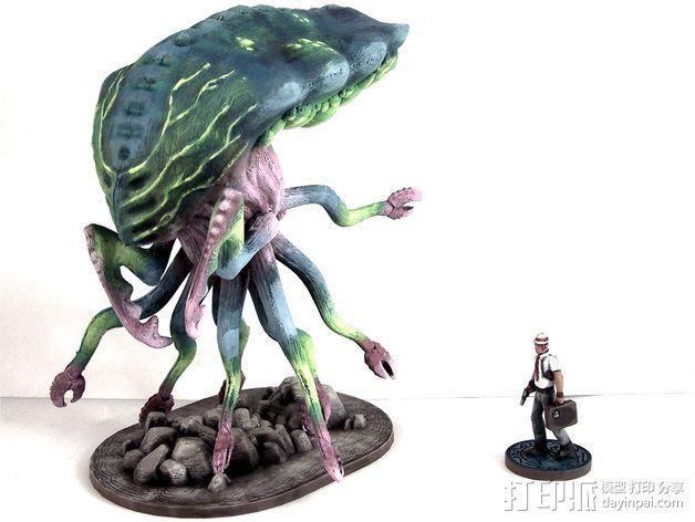 Branar Lasher外星生物 3D模型  图7