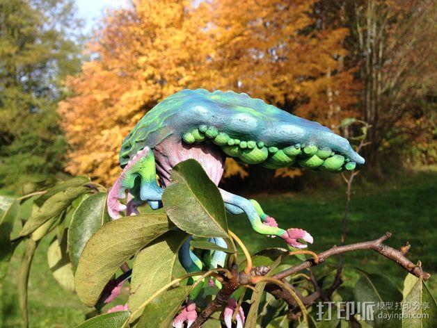 Branar Lasher外星生物 3D模型  图10