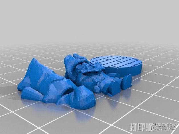 Greenbottom先生 3D模型  图3
