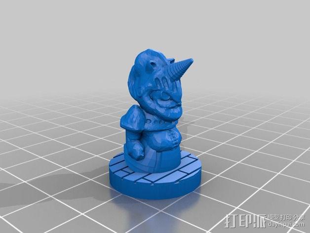 Mister Whitewinter 3D模型  图2