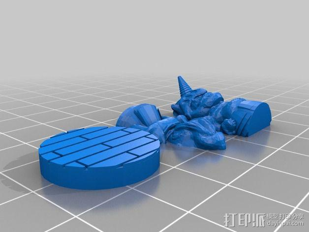 Mister Whitewinter 3D模型  图3