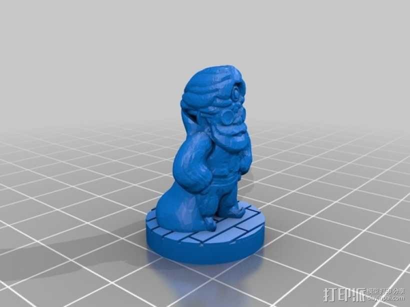 Mister Bluebottle 3D模型  图2