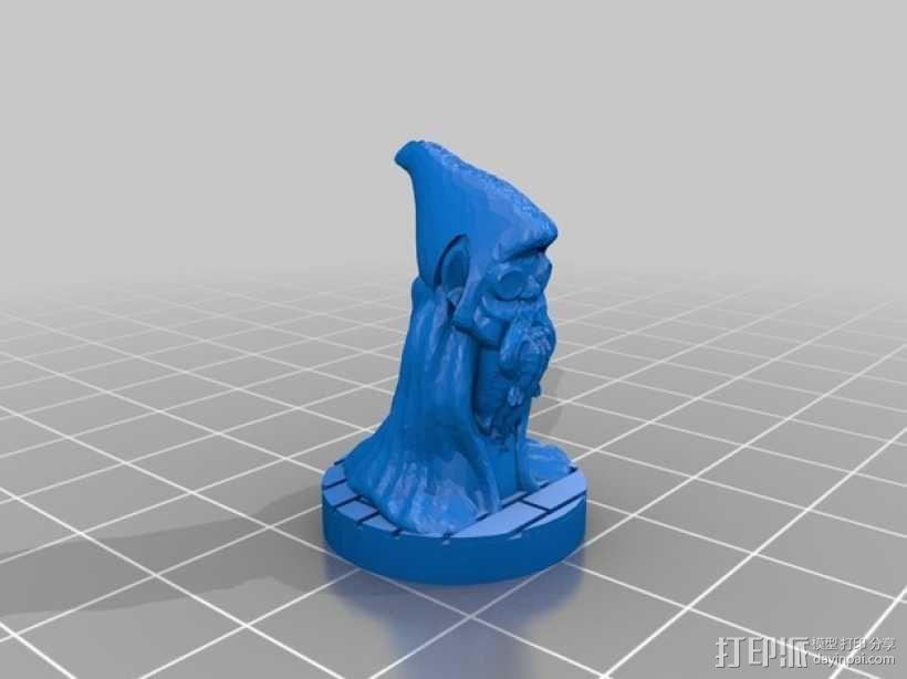 Mister Blackroot 3D模型  图3