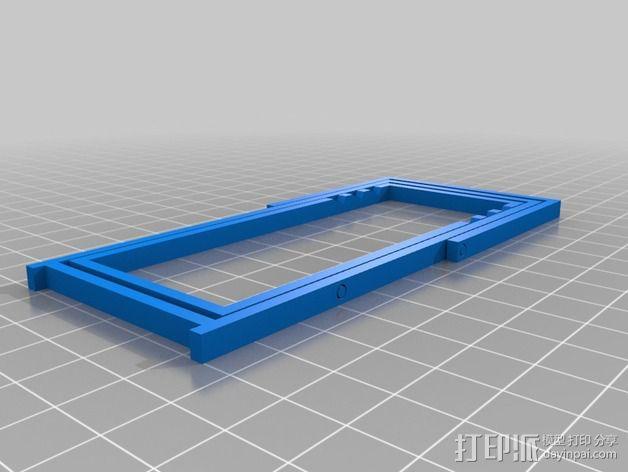 折叠躺椅 3D模型  图2