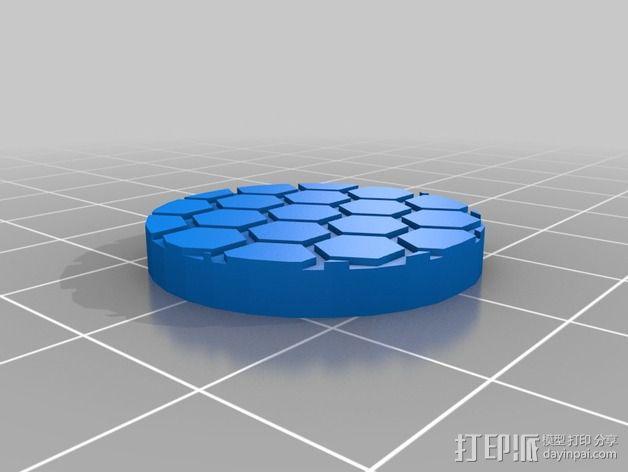 武装人员模型 3D模型  图4