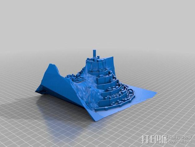 Minas僵尸乐园  3D模型  图3