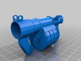 炮弹发射器 3D模型