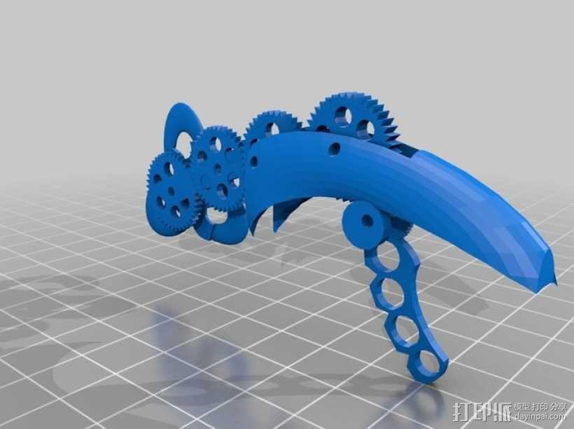 生化奇兵 天钩 3D模型  图1