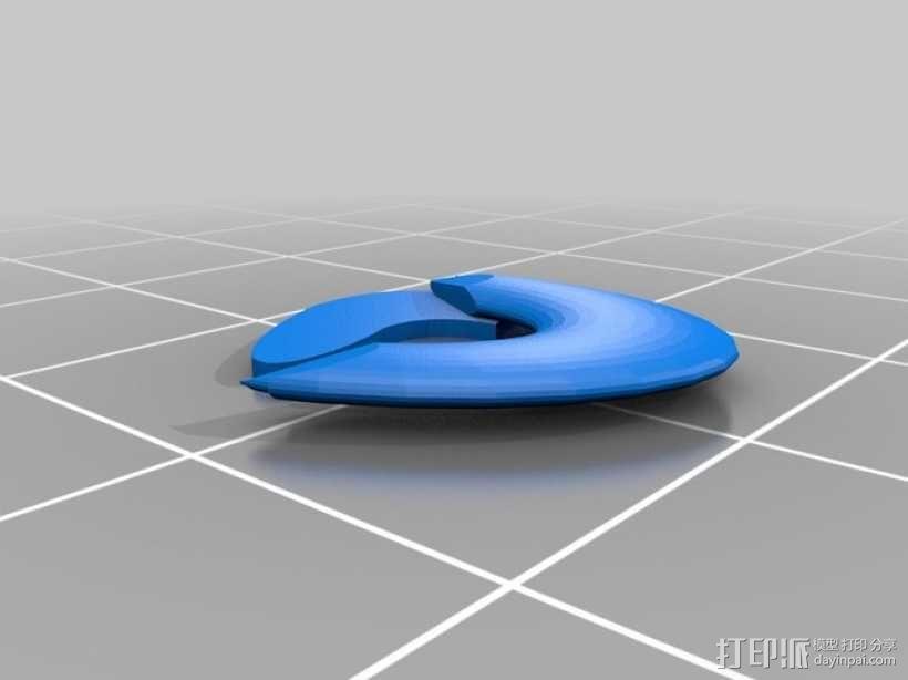 生化奇兵 天钩 3D模型  图2