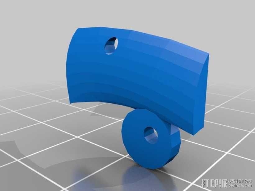 生化奇兵 天钩 3D模型  图6