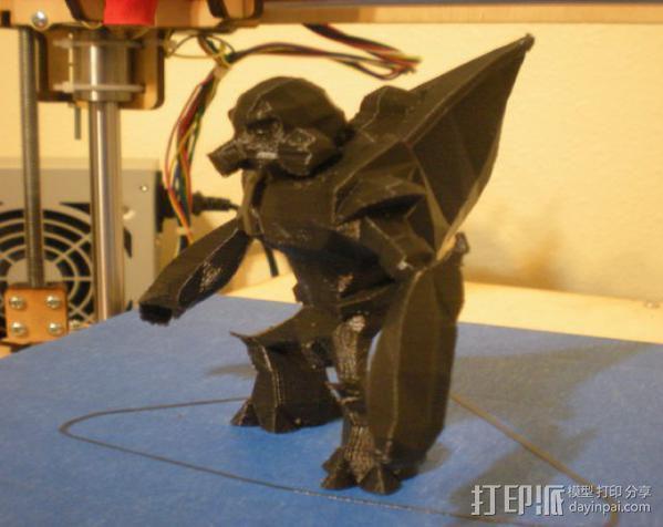 咕噜人 3D模型  图3