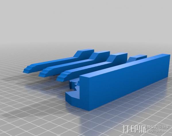 教堂废墟模型 3D模型  图2