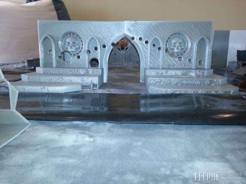 教堂废墟模型 3D模型  图1