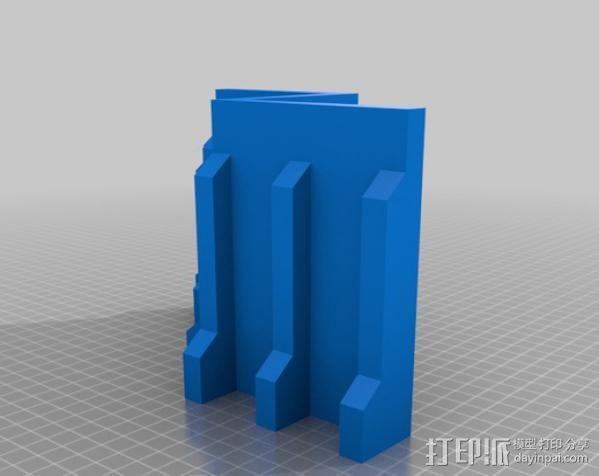 教堂废墟模型 3D模型  图3