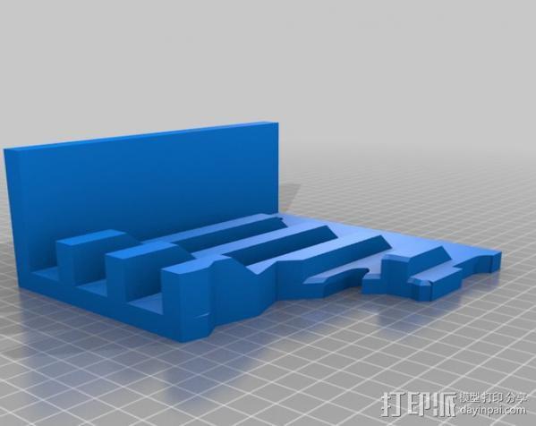 教堂废墟模型 3D模型  图7