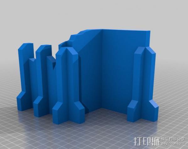 教堂废墟模型 3D模型  图6