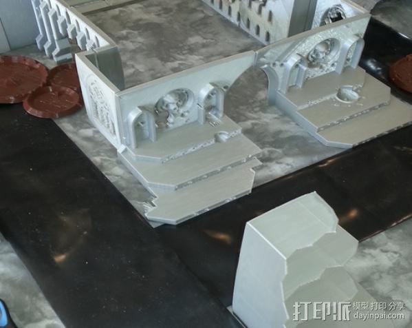 教堂废墟模型 3D模型  图14
