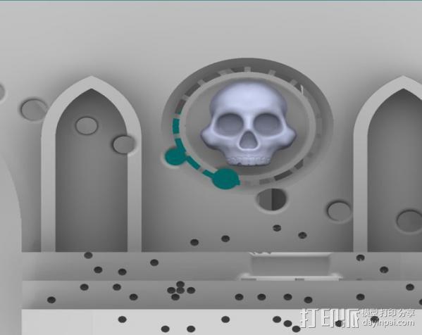 教堂废墟模型 3D模型  图16