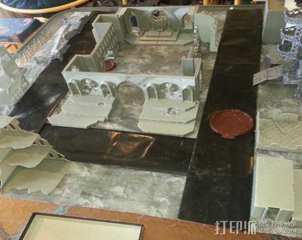 教堂废墟模型 3D模型  图19