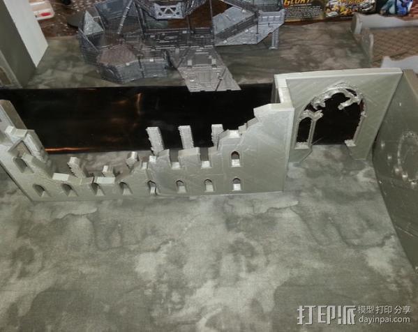 教堂废墟模型 3D模型  图22