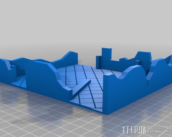 废墟模型 3D模型  图2