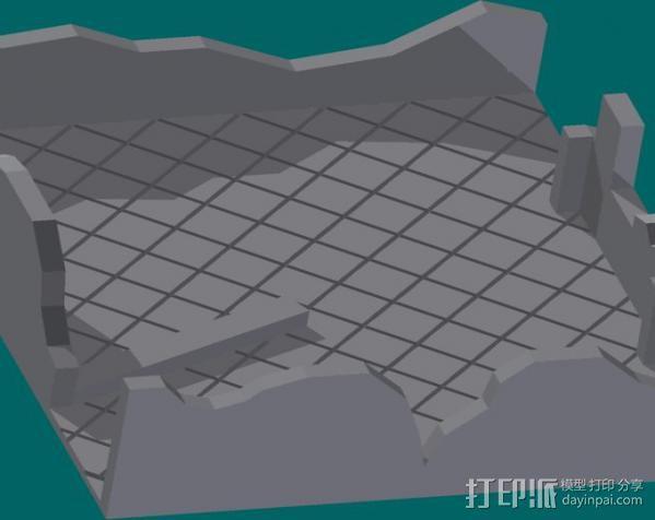 废墟模型 3D模型  图3