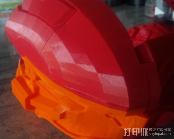 光晕4 头盔 3D模型  图18