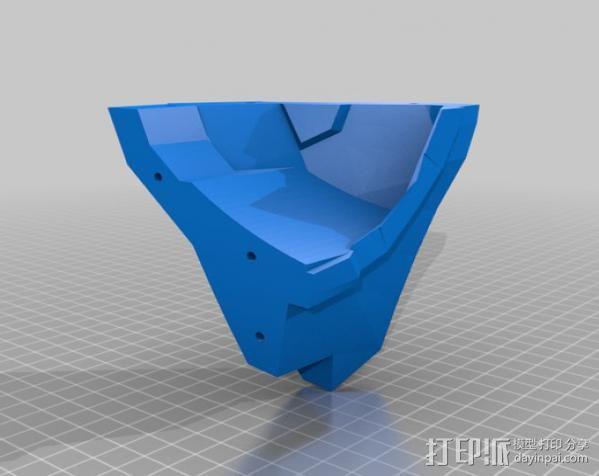 光晕4 头盔 3D模型  图26