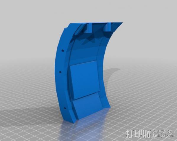 光晕4 头盔 3D模型  图25