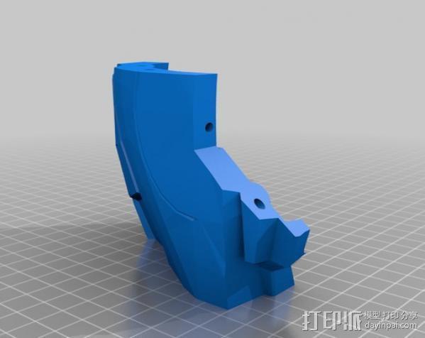 光晕4 头盔 3D模型  图28