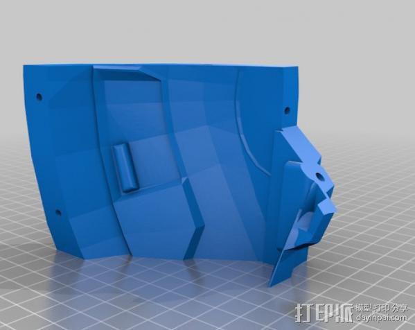 光晕4 头盔 3D模型  图29