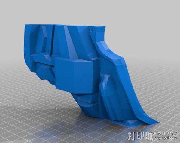 光晕4 头盔 3D模型  图32