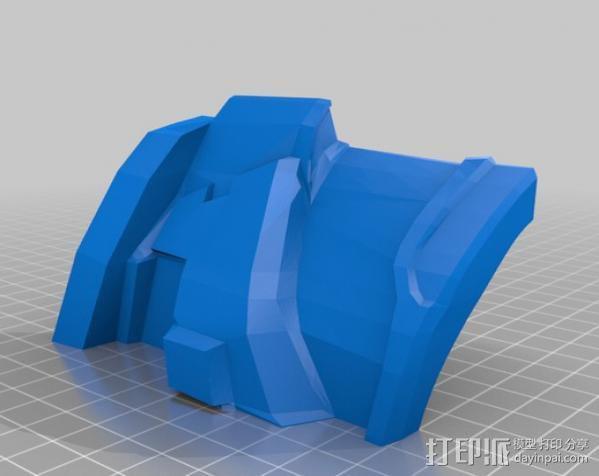 光晕4 头盔 3D模型  图35