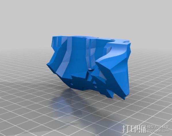 光晕4 头盔 3D模型  图38