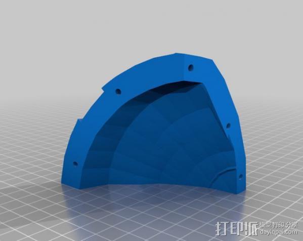 光晕4 头盔 3D模型  图40