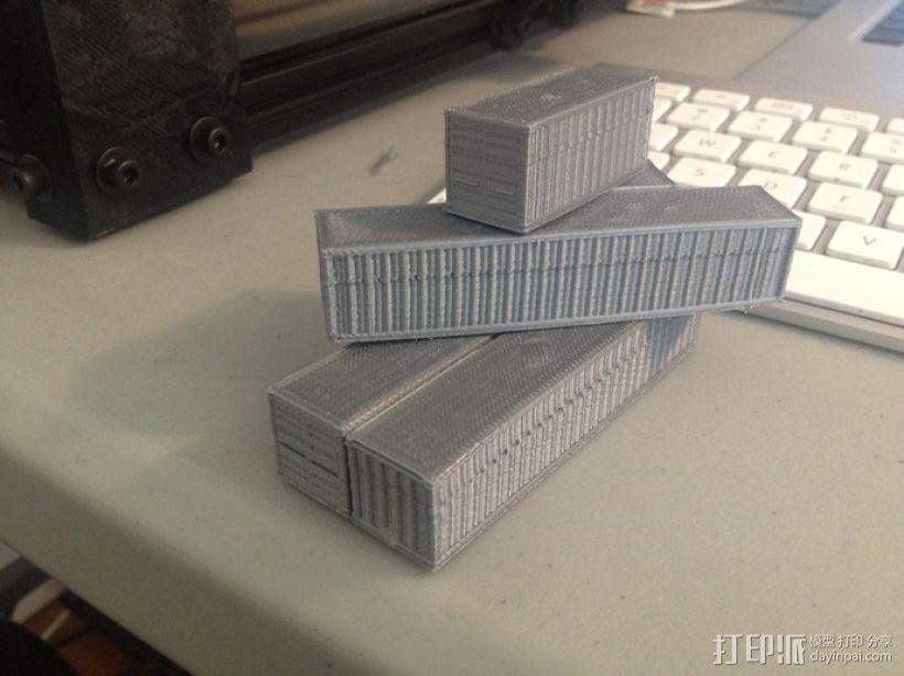 集装箱  3D模型  图4