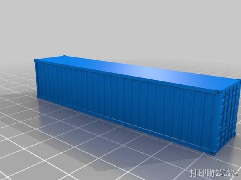 集装箱  3D模型  图3