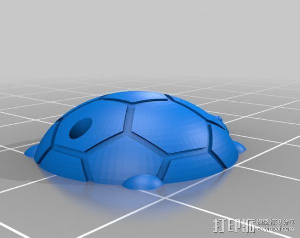 乌龟钥匙扣  3D模型  图2