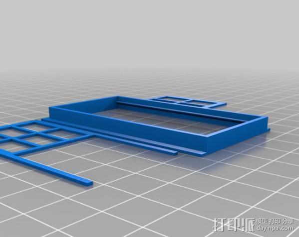 窗户和门 3D模型  图3