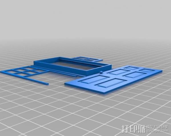 窗户和门 3D模型  图5