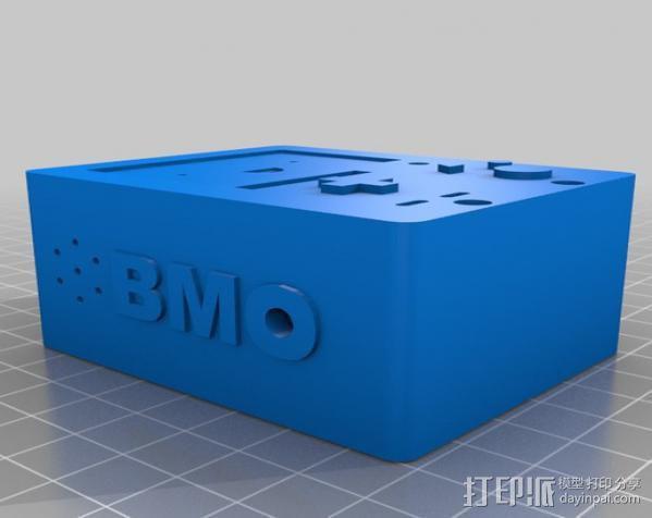 探险时光 bmo机器人 3D模型  图3
