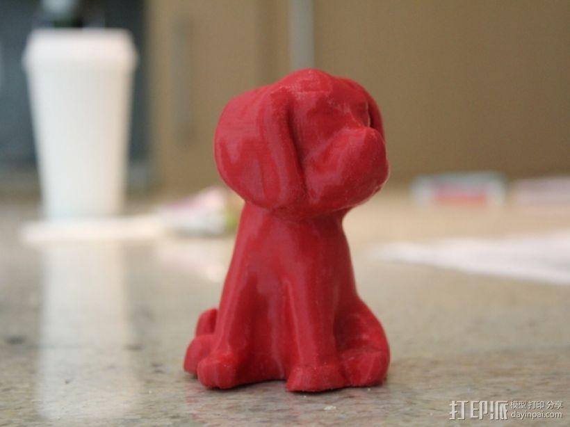 小狗模型 3D模型  图2