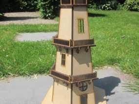 灯塔 3D模型