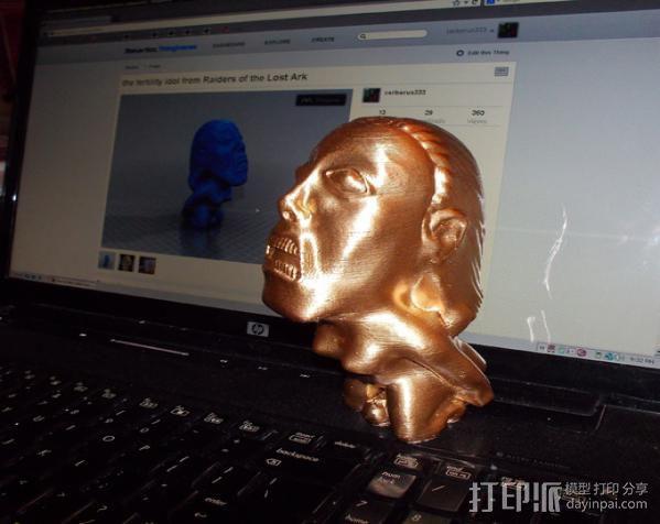 the fertility idol夺宝奇兵人物模型 3D模型  图3